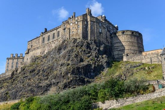 edimburgo castle rock