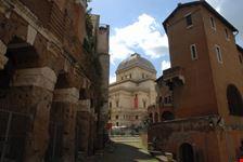 scorcio della sinagoga roma