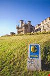 castello di ponferrada lungo il cammino santiago de compostela