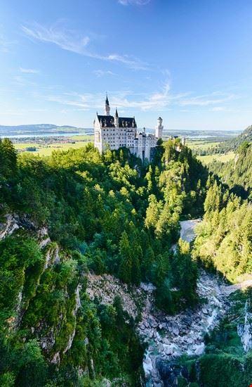 monaco castello di neuschwanstein