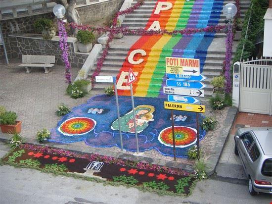 infiorata scalinata 15 settembre 2013