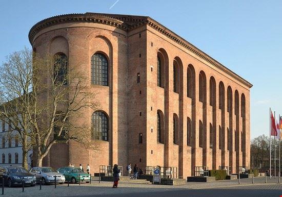 treviri basilica palatina di costantino
