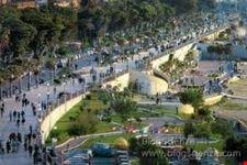 Gli alberi secolari ed i giardini del Km piu' bello d'italia