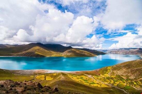 lhasa lago yamdrok