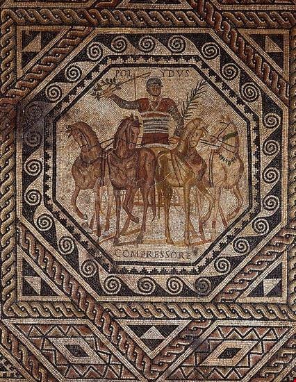 treviri mosaici circo di treviri
