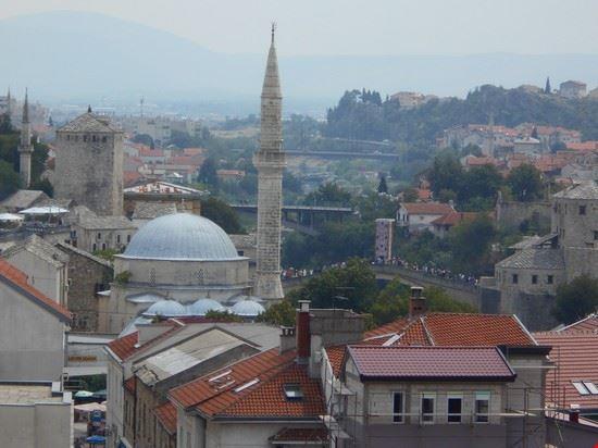 Vista dal minareto della Moschea di Koski