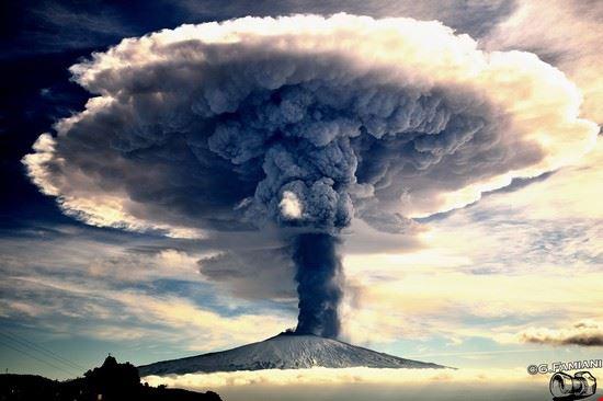 Sensazioni, Etna in eruzione