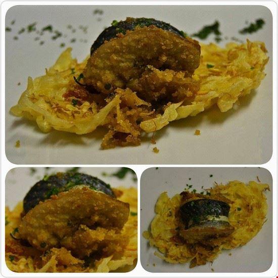 Sgombro e tempura