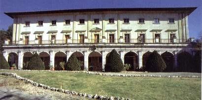 Portico della Ficoncella - San Casciano dei Bagni