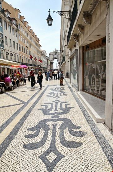 lisbona rua augusta