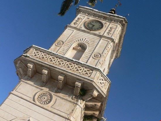 torre dell'orologio messapica