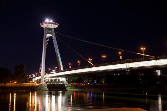 Cosa vedere a Bratislava: Ponte ufo
