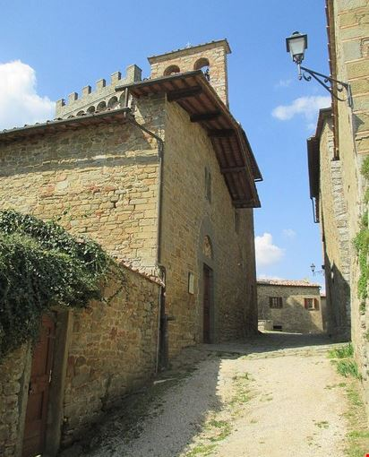 chiesa dei Santi Tiburzio e Susanna - Gargonza