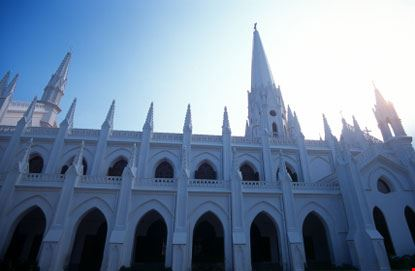 chennai chiesa bianca