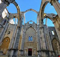 103939 lisbona igreja do carmo
