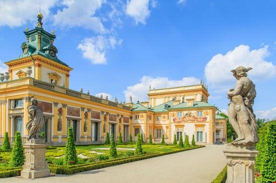 varsavia palazzo di wilanow