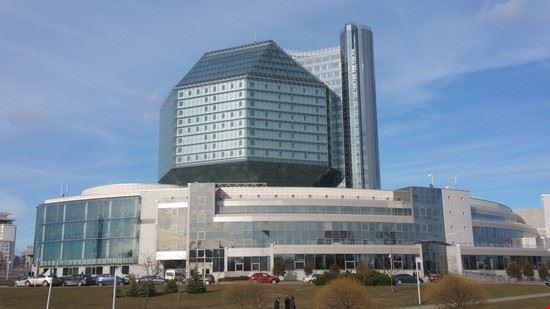 minsk biblioteca nazionale bielorussa