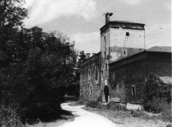 Castello della Rotta in una foto d'epoca
