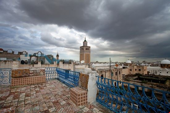 104717 tunisi quartiere antico