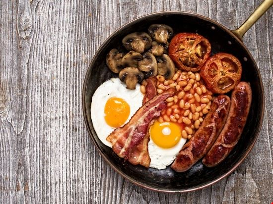 leicester english breakfast