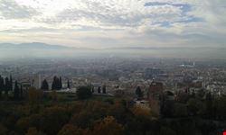 granada vista panoramica della citta