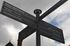indicazioni stradali a greenwich londra