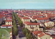 Vista dall'alto del centro abitato
