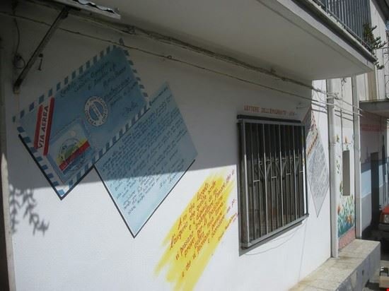 Murales lettere militari alle fidanzate