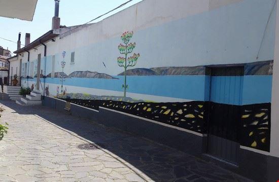 Murales pescatori Montegiordano