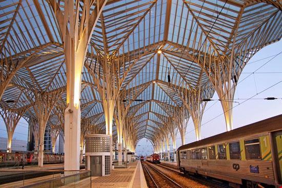 lisbona oriente station