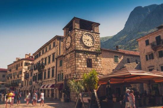 A passeggio nel centro storico di Kotor