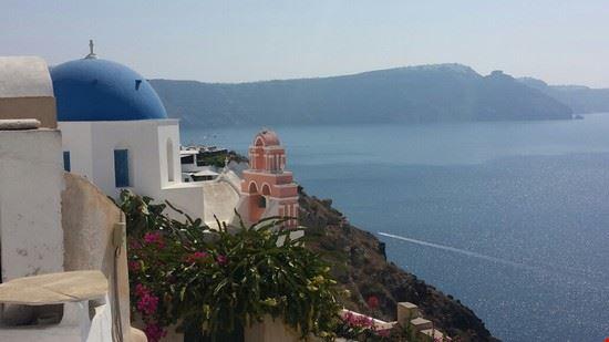 Scorcio di Santorini
