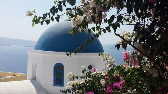 I colori di Santorini