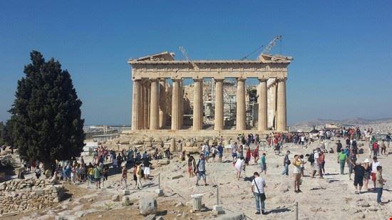 La magia del Partenone