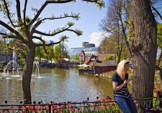 Foto giardini di tivoli a copenaghen autore redazione
