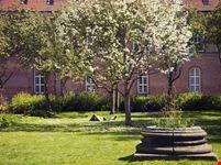 copenaghen giardino della biblioteca reale