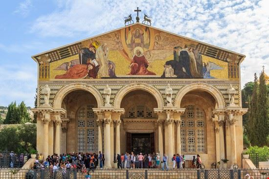 gerusalemme chiesa delle nazioni