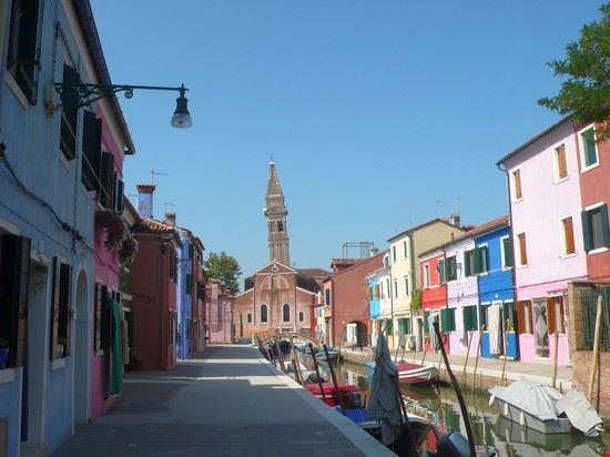 venezia case colorate di burano