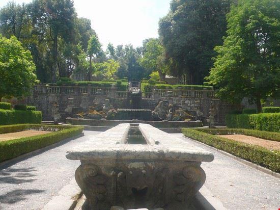 Fontana dei Giganti a Villa Lante