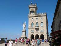 Il palazzo Pubblico a San Marino