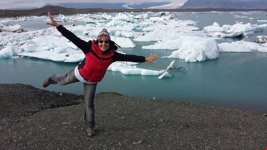reykjavik in mezzo agli icebergs