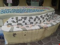 "Come a Parco Guell la seduta sulla ""Panchina"""
