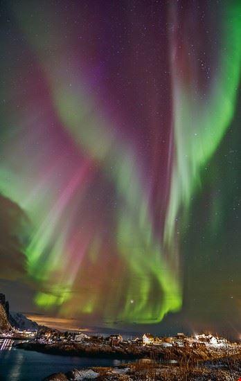 aurora boreale bergen