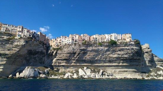 Scorcio panoramico di Bonifacio