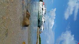 porto cervo costa smeralda scorcio panoramico dell  arcipelago