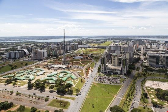 eixo monumental - brasilia