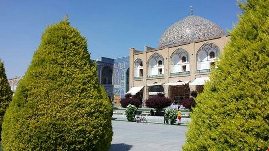 scorcio di isfahan teheran