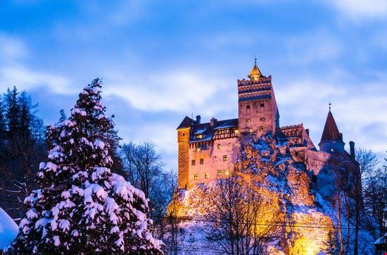 bucarest castello di bran