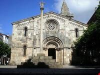 Colegiata de Santa María, La Coruña, España.