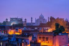 delhi agra